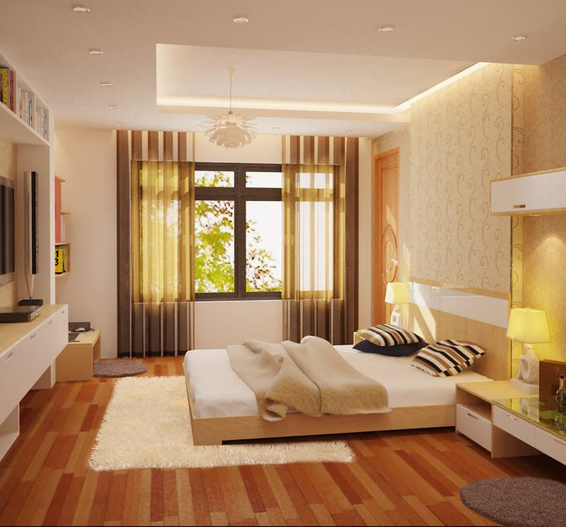 nội thất phòng ngủ đẹp hiện đại bạn nên tham khảo