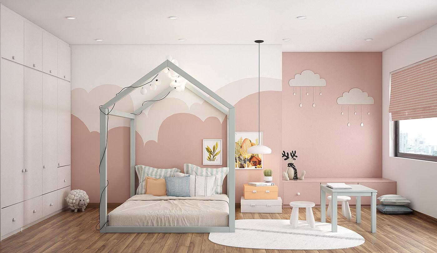 Thiết kế nội thất phòng trẻ emThiết kế nội thất phòng trẻ em