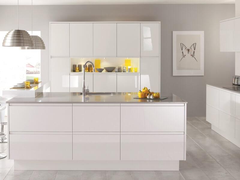 Các mẫu tủ bếp đẹp dành cho chung cư