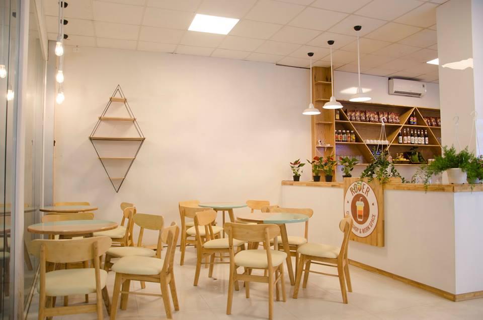 Nội thất quán cafe đẹp-HaGo