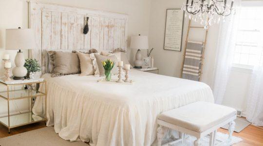 Chiếc giường cho tân hôn ấm áp